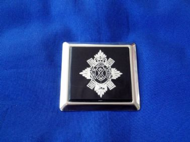 BLACK WATCH CAR GRILLE BADGE